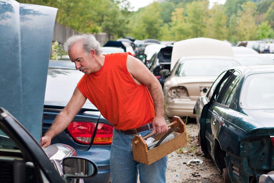 auto salvage in Tulsa
